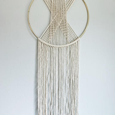 Porter in Place Special Macrame Dream Catcher by JungleandLoom