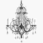 Chateau 6-Light French Country Style Chandelier by Feiss