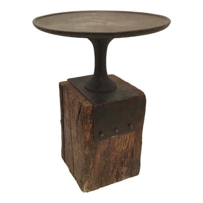 Arteriors Industrial Modern Anvil Occasional Table