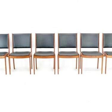 Mid Century Dining Chairs by Johannes Andersen  For Uldum Mobelfabrik by SputnikFurnitureLLC