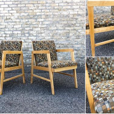 Restored Vintage Maple Chairs
