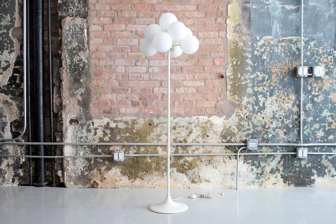 Swiss Floor Lamp by E R Nele