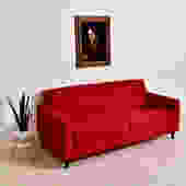Cherry Red Sofa