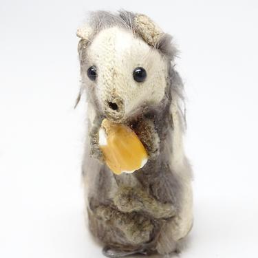 Vintage German Toy Mouse Original Fur Toys West Germany by exploremag