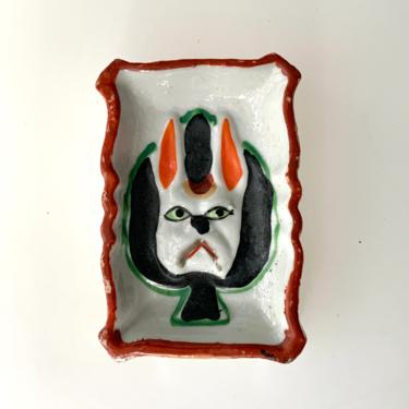 Angry Rabbit Trinket Dish by FunkyRelic