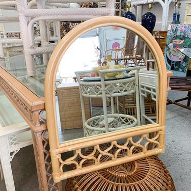 Sweet Island Style Rattan Mirror
