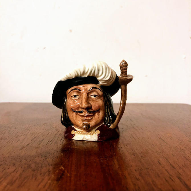 Vintage Royal Doulton Porthos Miniature Character Jug by OverTheYearsFinds