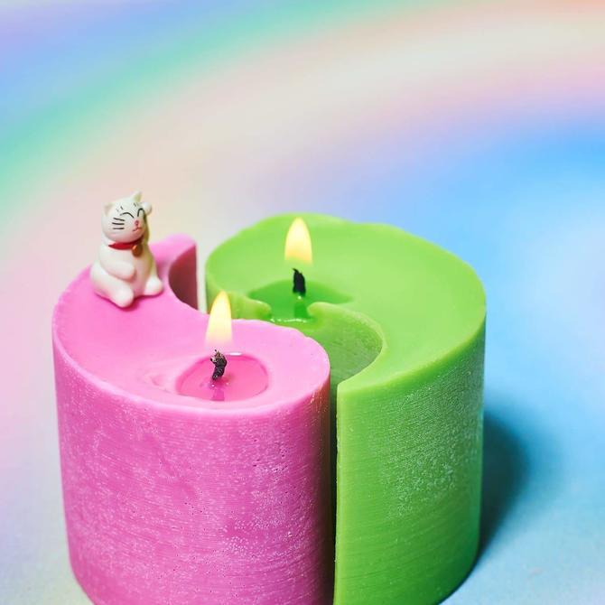Yin Yang Candle