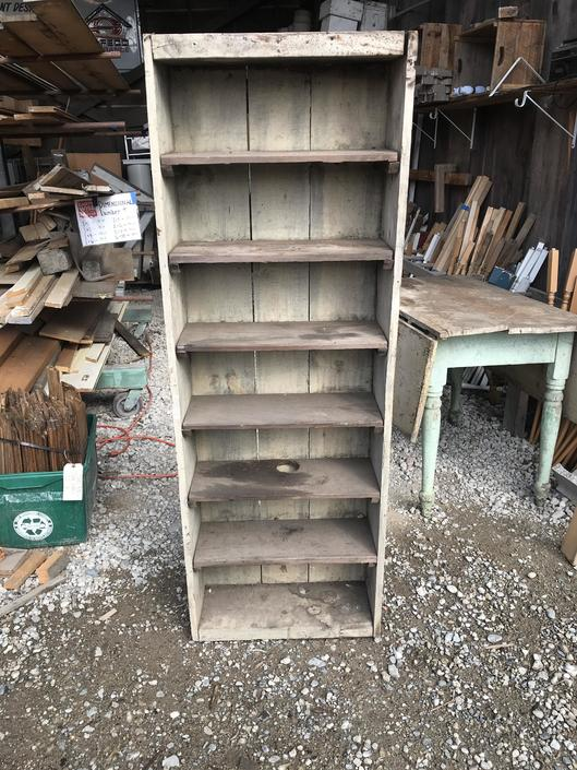 "Rustic bookshelf 8"" x 21 3/4"" x 59 3/4"""