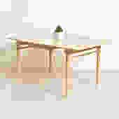 Blonde Vintage Dining Table