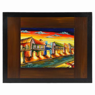 """Ya-Li """"Katie"""" Lin Oil Painting on Canvas New Orleans by VintageInquisitor"""