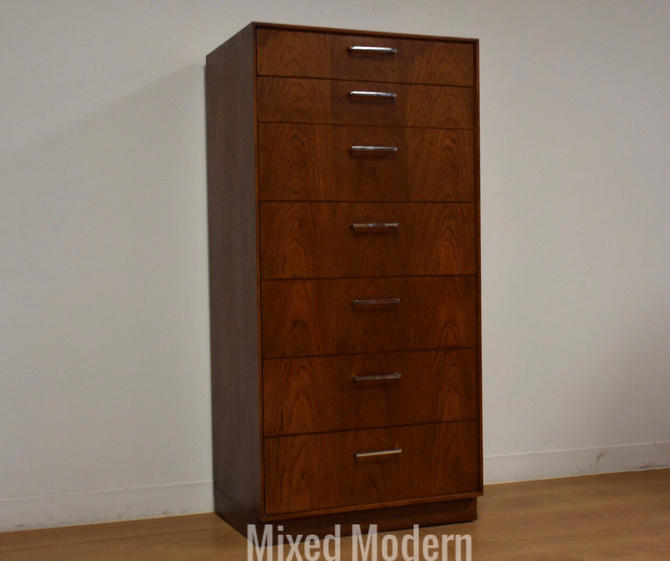 Walnut Color Lingerie Chest Dresser by mixedmodern1
