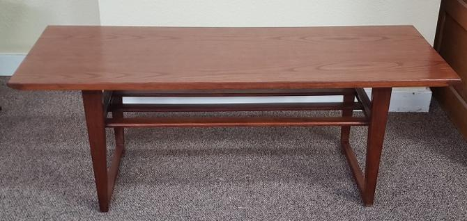 Item #T61 Mid Century Two Tier Coffee Table c.1960s
