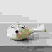 Ayame Bullock Textured Teapot, White