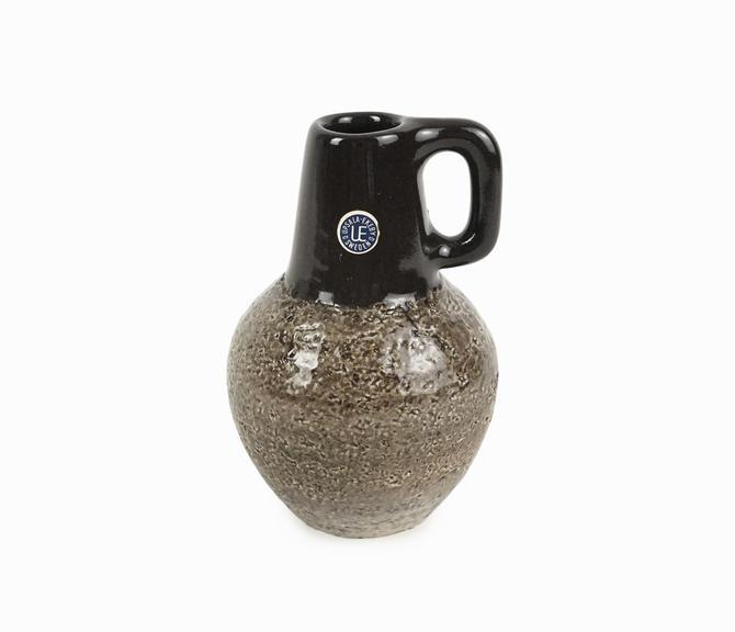 1960s Ingrid Atterberg Ceramic Vase 4330/784 Åhlén & Holm Sweden Mid Century Modern by VintageInquisitor