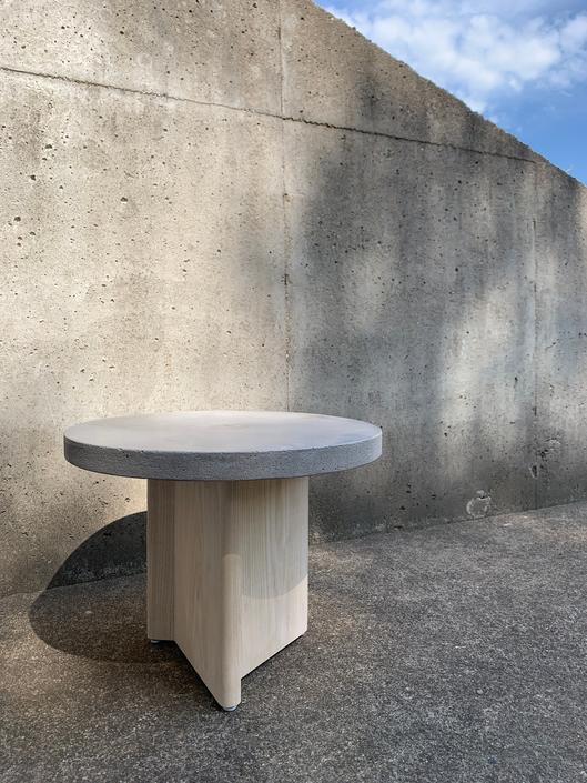 OSO Round Concrete Side Table by MarcoBogazziStore