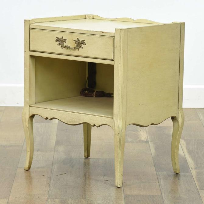 Henredon French Provincial Nightstand W/ Drawer