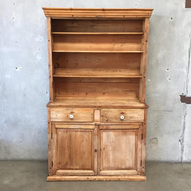 Primitive Antique Hutch
