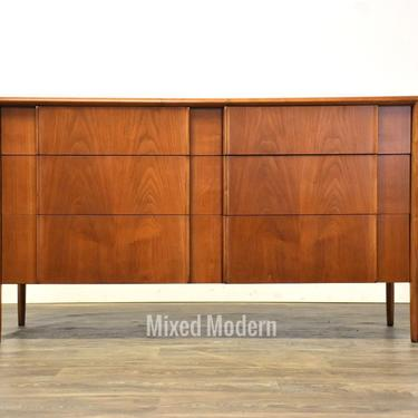 Barney Flagg for Drexel Walnut Dresser by mixedmodern1