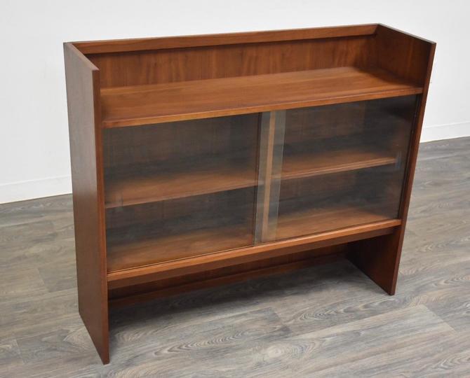 Mid Century Walnut Bookcase by mixedmodern1