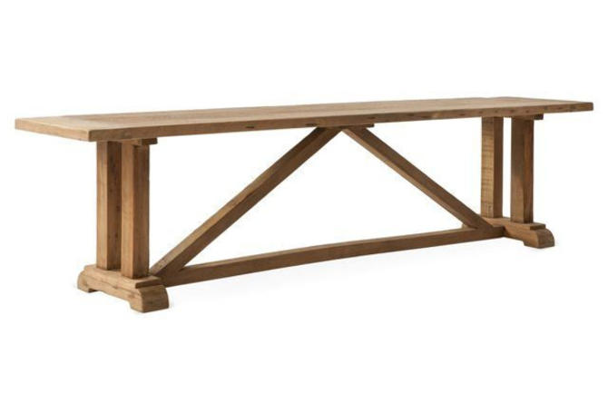 Bench, Reclaimed Salvaged Solid Wood Bench, Vintage and Rustic by VintageMillWerks