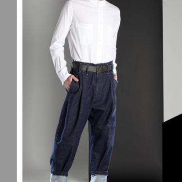 Blue Cool Pants