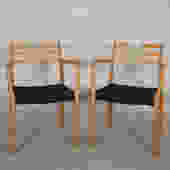 Pair of Danish Niels Møller #78 Accent / Side Chairs