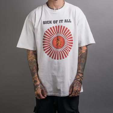 Vintage 90's Sick Of It All T-Shirt by MillsAveVintage