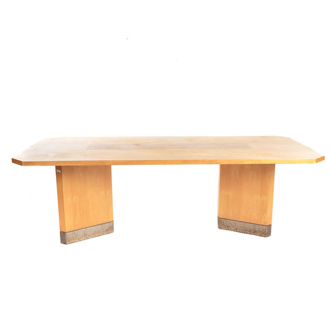 Cabinet Made Contemporary Maple Dining Table