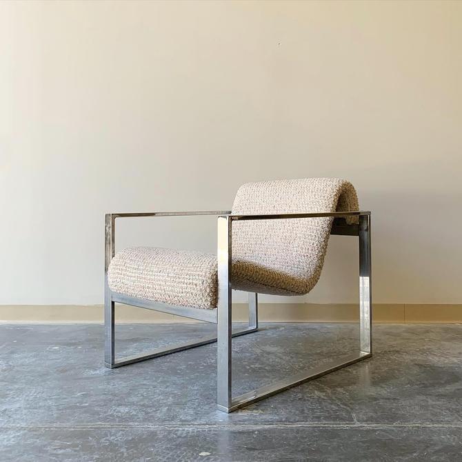 Mid Century Modern Steelframe sling chair