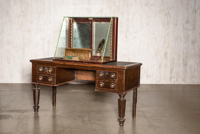 Leather-topped Desk
