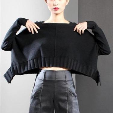 Dangly Midriff Sweater