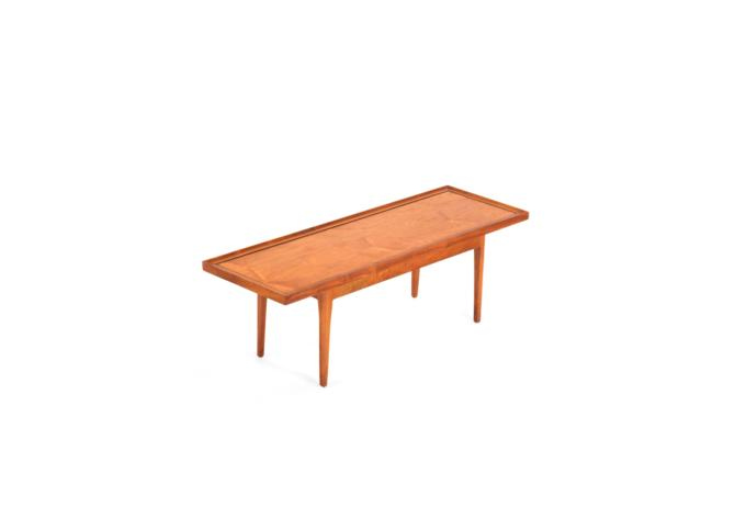 Mid Century Coffee Table by Kipp Stewart for the Drexel, Declaration Line by ABTModern