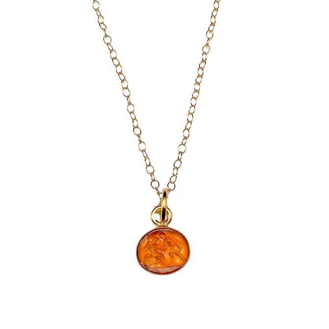 Petite Italian Glass Necklace