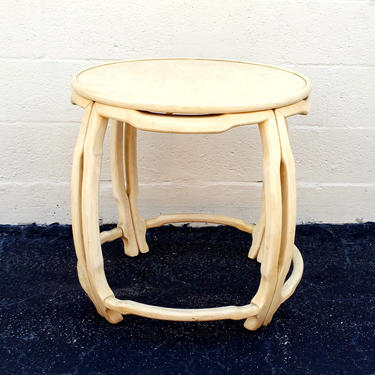 Ming Treasure by Drexel Heritage Round End Table by ModernPicks