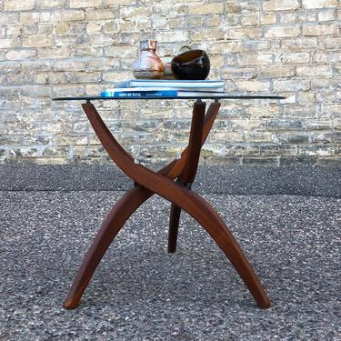 Forest Wilson Walnut Accent Table