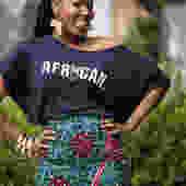 African Jersey Top
