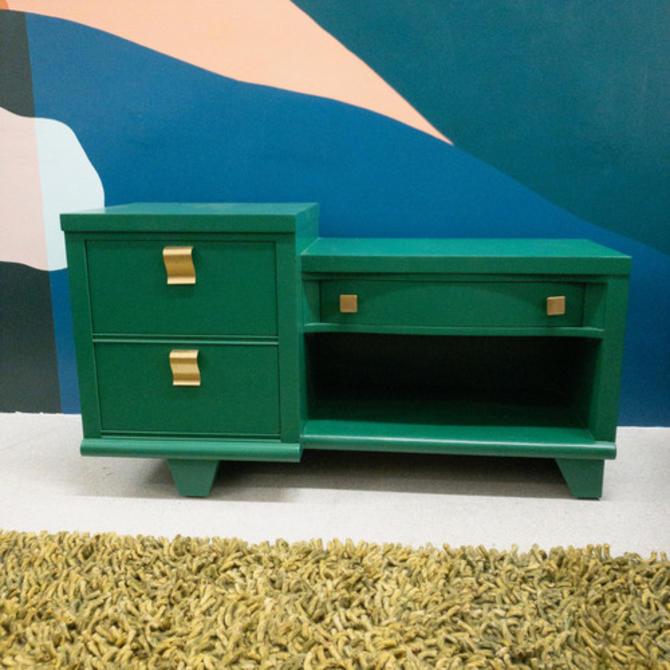 Restored Green Vanity