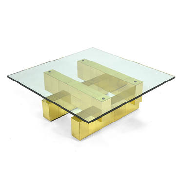 Paul Evans Cityscape Coffee Table by Directional
