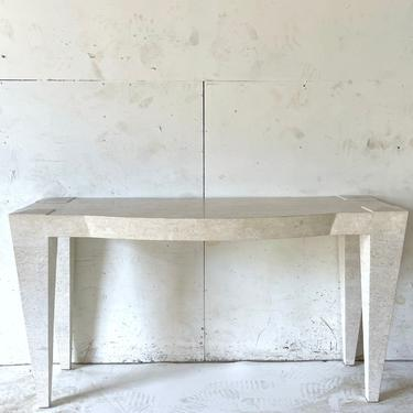 Vintage Modern Tessellated Console Table by secondhandstory