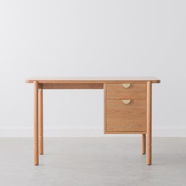 Sawyer Desk - Solid Wood - Two Drawers by HedgeHouse