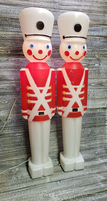 Vintage Toy Soldier Blow Mold Union Products Blow Mold Light Up Soldier Lawn Lights Yard Decor Christmas Decoration Vintage Christmas By Agogovintage From A Gogo Vintage Of Havre De Grace Md