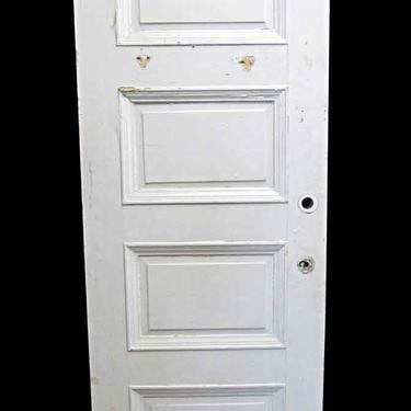 Antique Lamb's Club 4 Pane Wood Passage Door 83.5 x 29.75