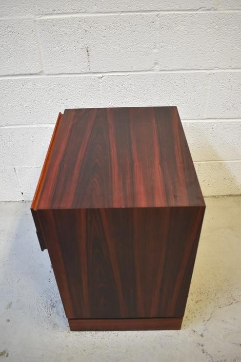 Danish Rosewood Nightstand by Vinde Mobelfabrik