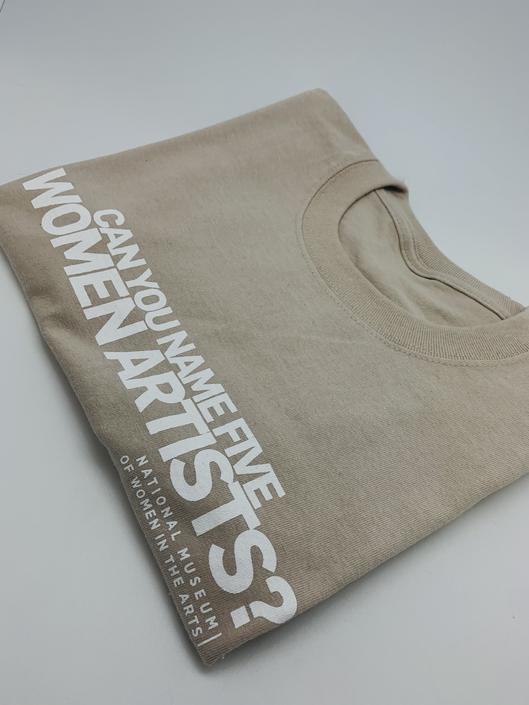 #5WomenArtists T-Shirt Light Sand