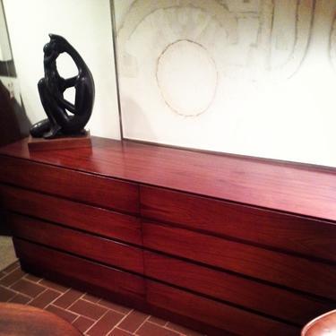 Rosewood Midcentury Dresser