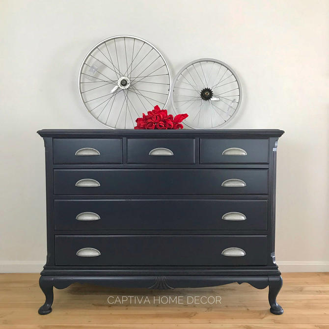 navy exceptional chest blue lacquered drawers grasscloth large of