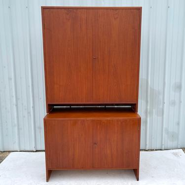 Mid-Century Teak Cabinet or Cupboard by Hans Wegner for Ry Møbler by secondhandstory