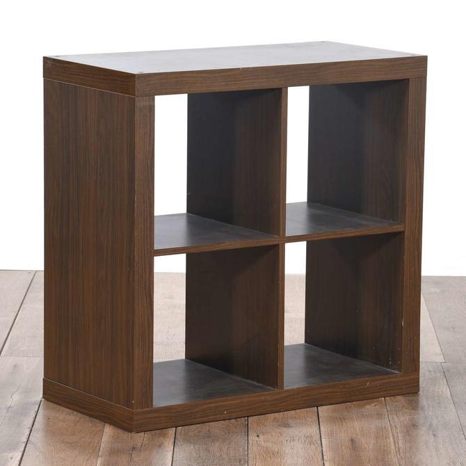 Ikea Dark Brown Kallax Shelf Unit