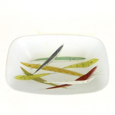 Italian Ceramic Fish Bowl
